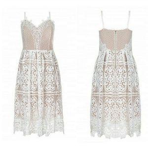 🔥🆕➕ CITY CHIC 💜 Lace Dress
